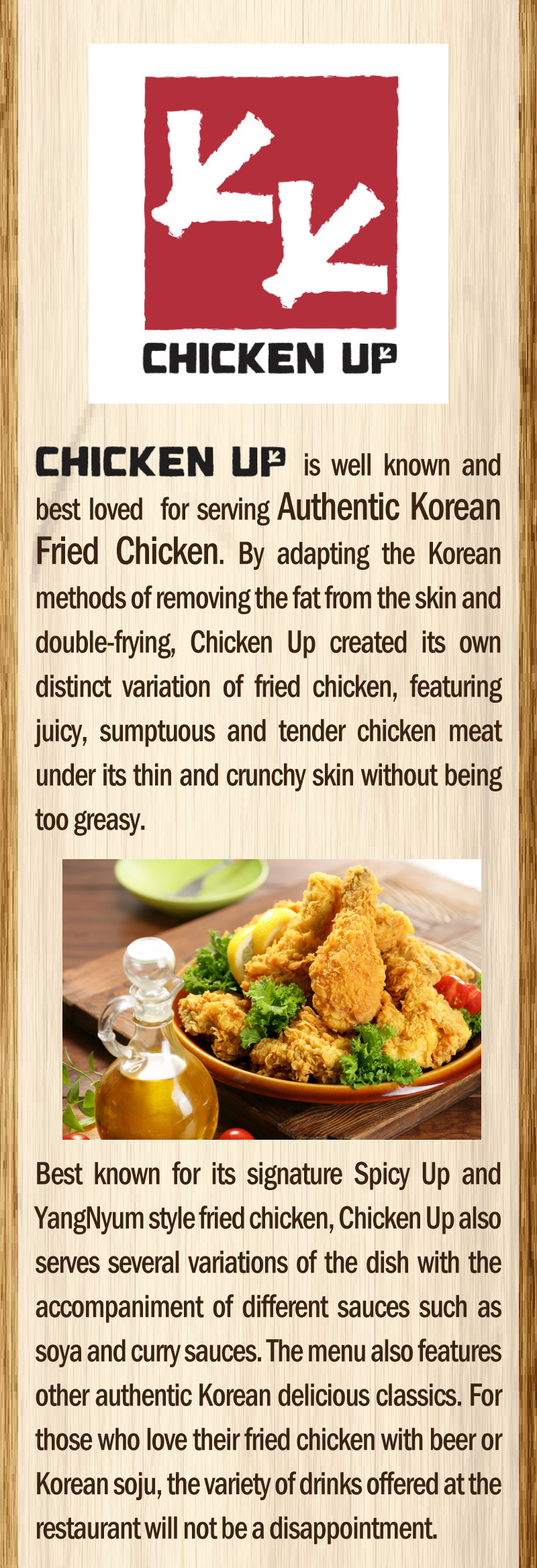 Chicken Up SG 50% Off 4pcs Wings Coupon Valid 30 Days after Purchase - Why Not Deals 5 & Promotions