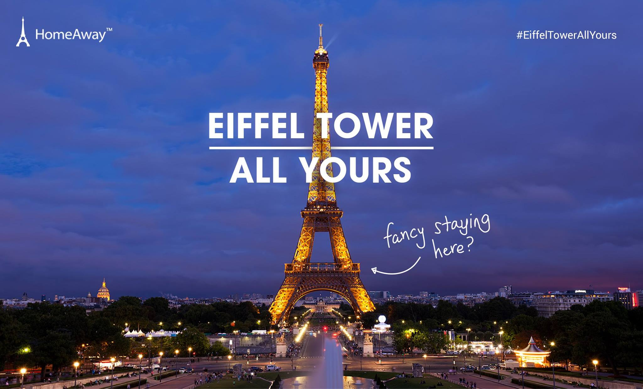 HomeAway Once-in-a-lifetime Opportunity Spend a Night at Eiffel Tower - Why Not Deals 1 & Promotions