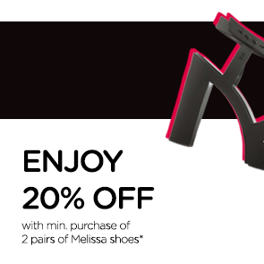 Melissa Melissale 20% Off in MDREAMS While Stocks Last - Why Not Deals & Promotions