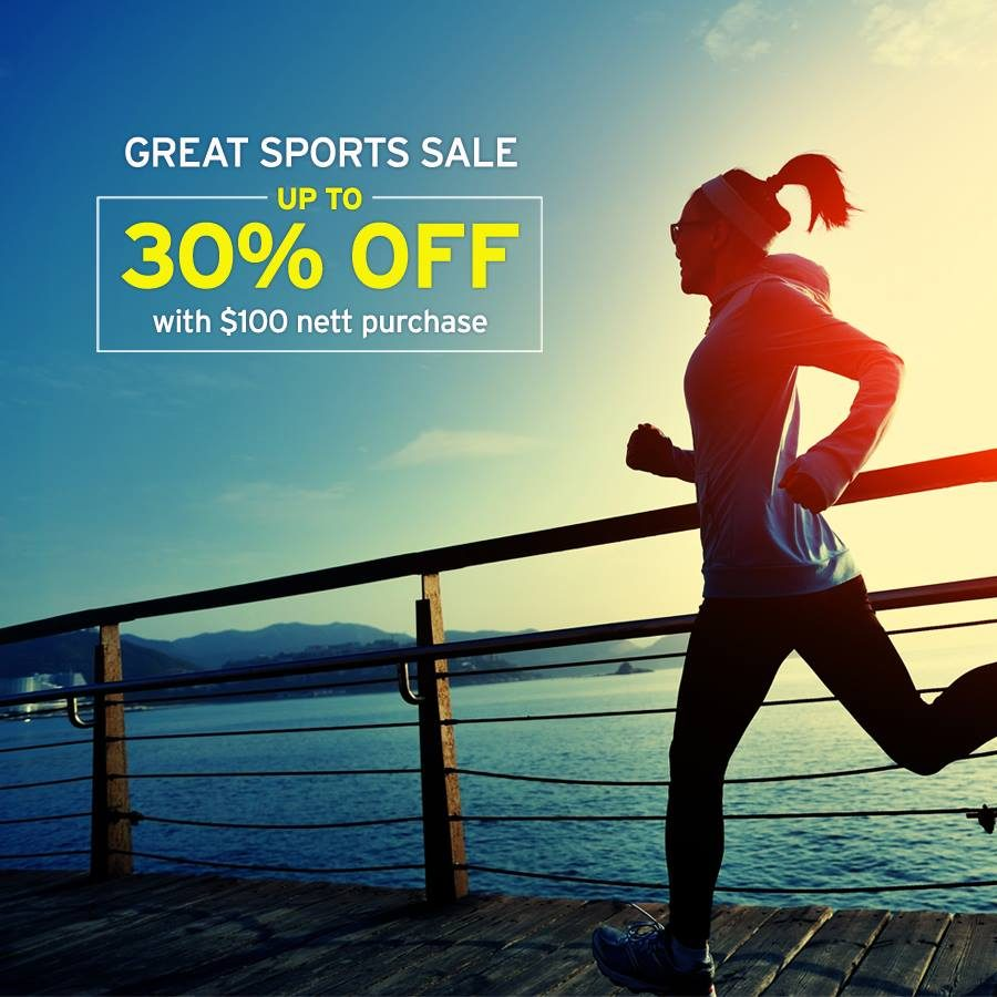 Royal Sporting House The Great Sports Sale Up to 30% Off - Why Not Deals & Promotions