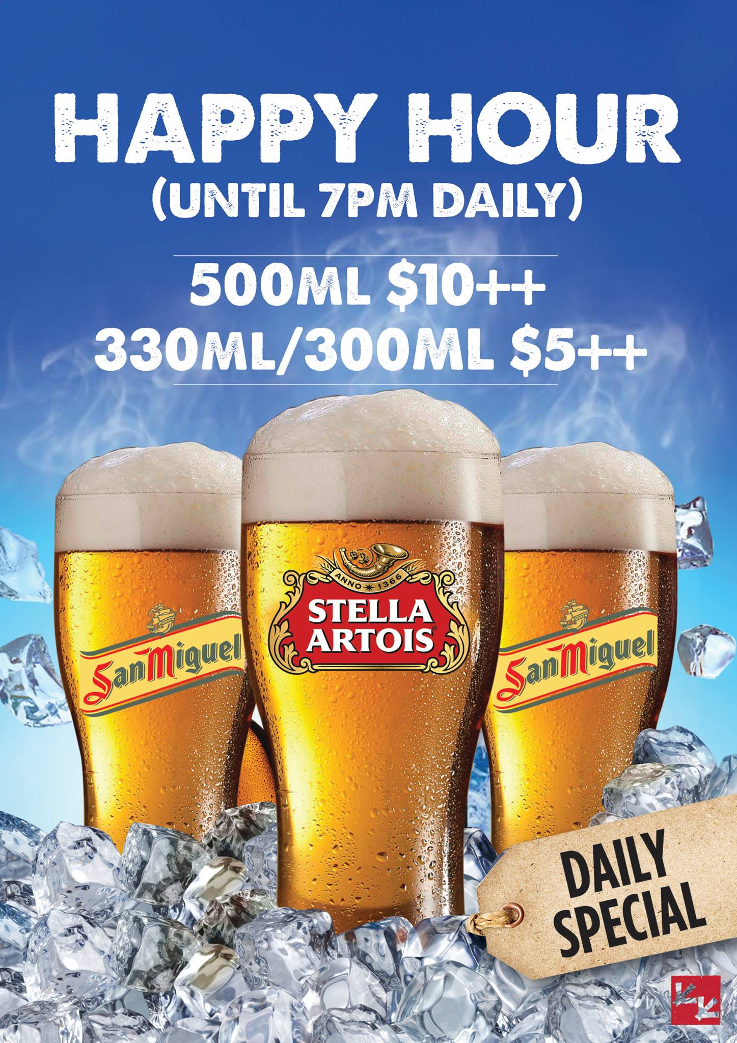 Chicken Up SG Happy Hour until 7pm Daily - Why Not Deals 1 & Promotions
