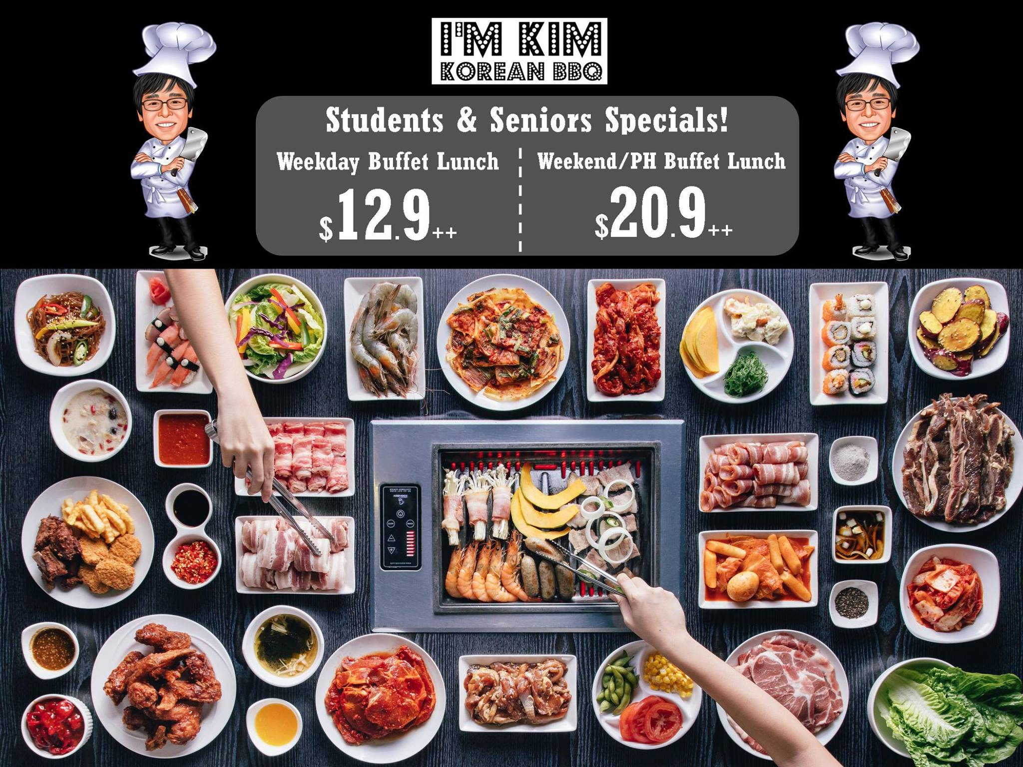 I'm KIM Korean BBQ SG Students & Seniors Specials - Why Not Deals 2 & Promotions