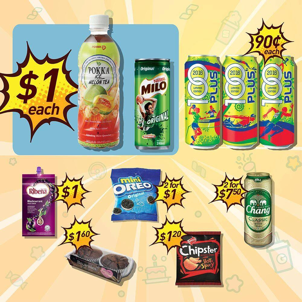 7-Eleven 2 Weeks $1 Deals Singapore Promotion ends 28 Jul 2016 | Why Not Deals & Promotions