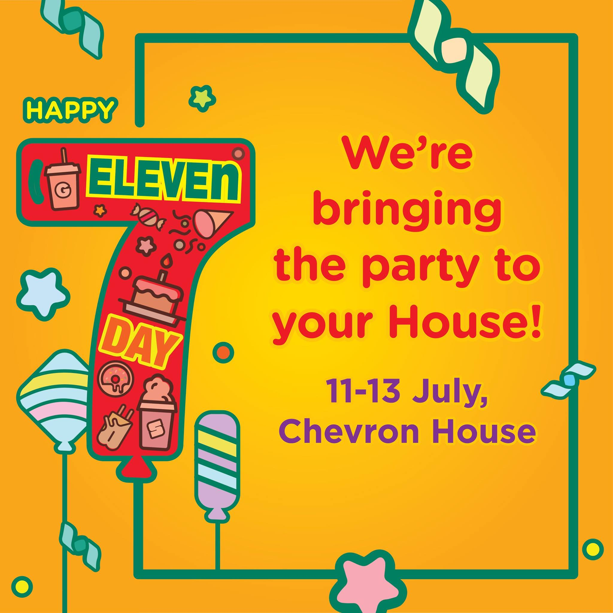 7-Eleven Day 1-For-1 Singapore Promotion 11 to 13 Jul 2016 | Why Not Deals & Promotions
