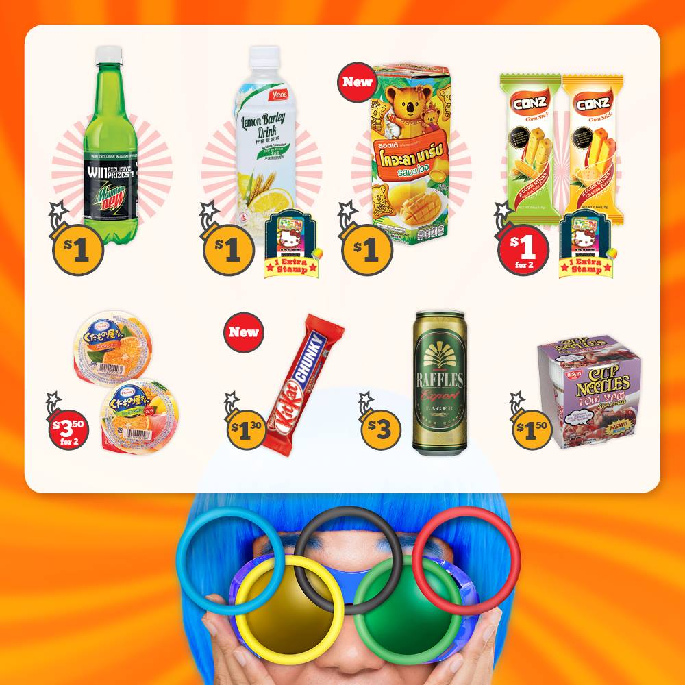 7-Eleven Singapore CRAZY DEALS at $1 Promotion ends 7 Sep 2016 | Why Not Deals & Promotions