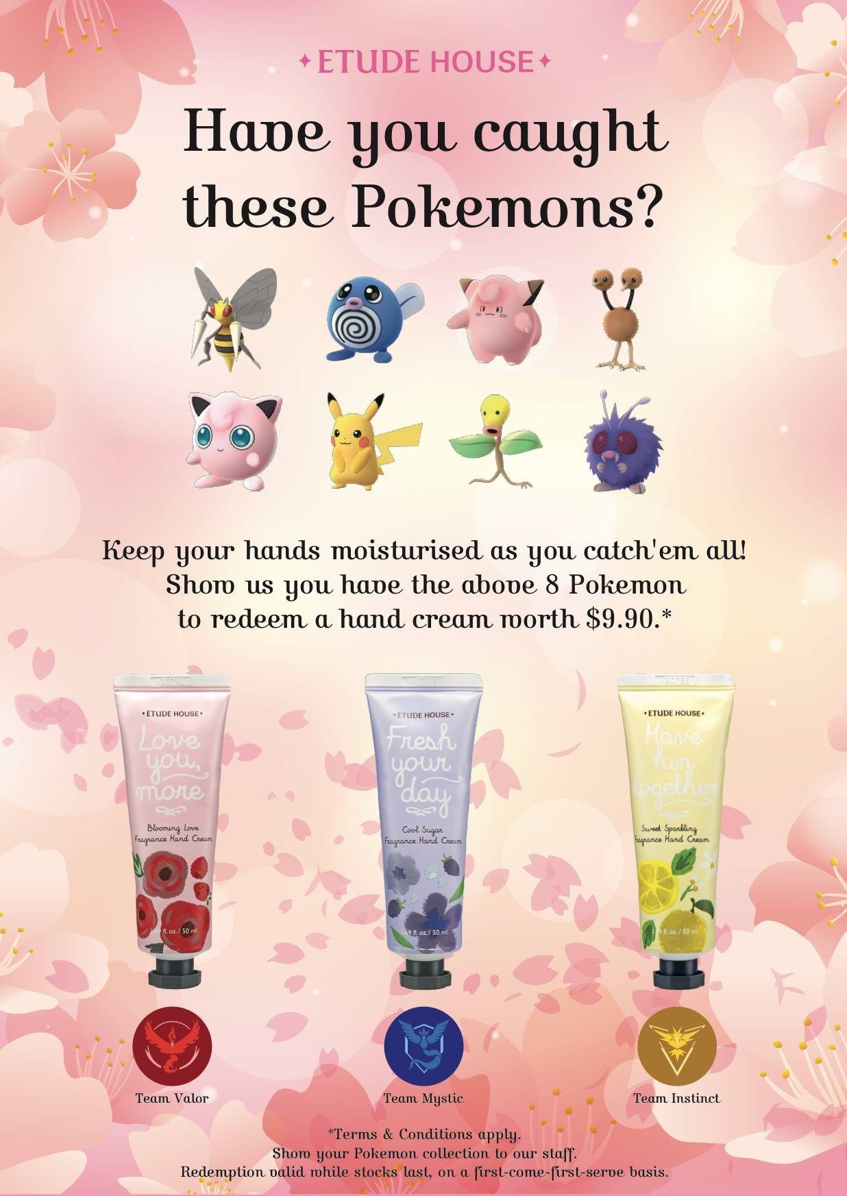 Etude House Singapore Pokemon GO Promotion While Stocks Last | Why Not Deals & Promotions