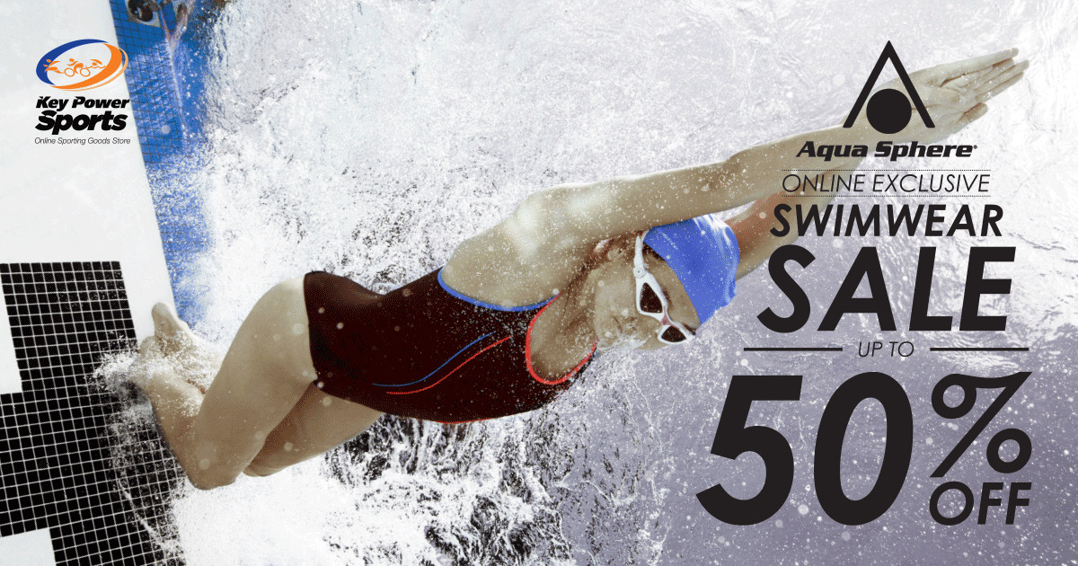 Key Power International Singapore 50% Off Aqua Sphere Swimwear Limited Time Promotion | Why Not Deals 1 & Promotions
