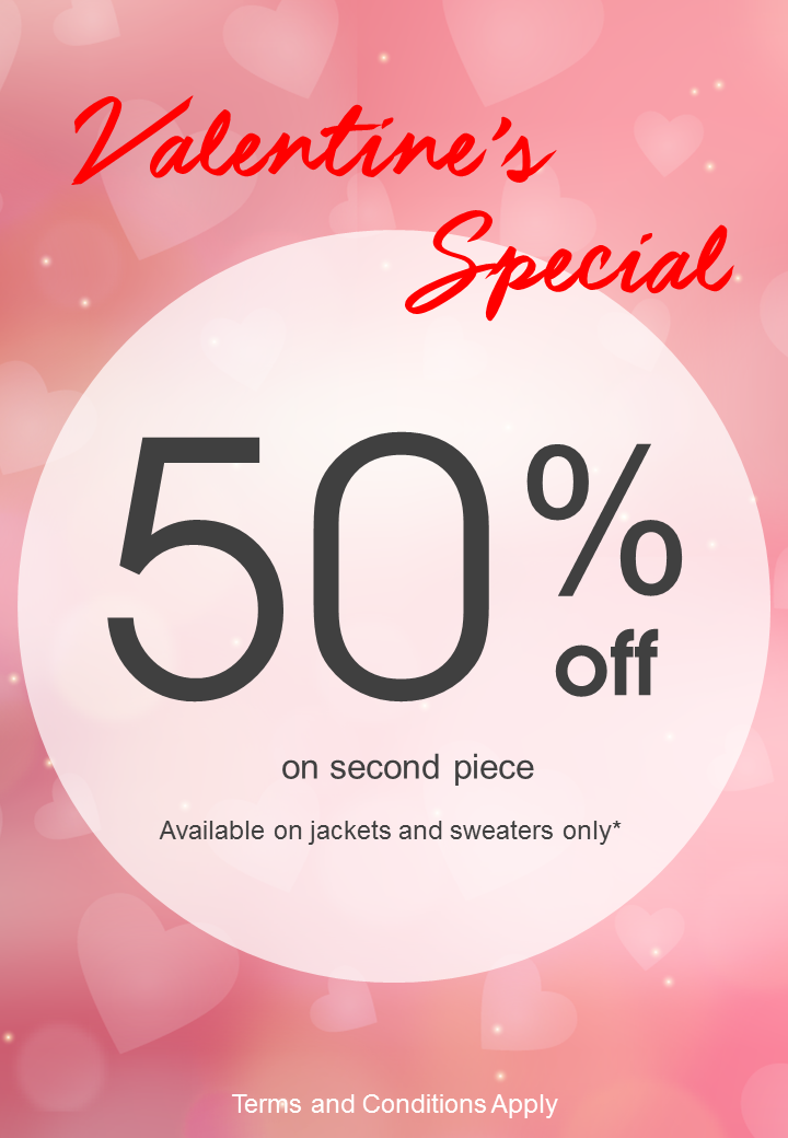 Coldwear Singapore Valentine's Day Special Buy 2 & Get 50% Off 2nd Piece Promotion | Why Not Deals & Promotions