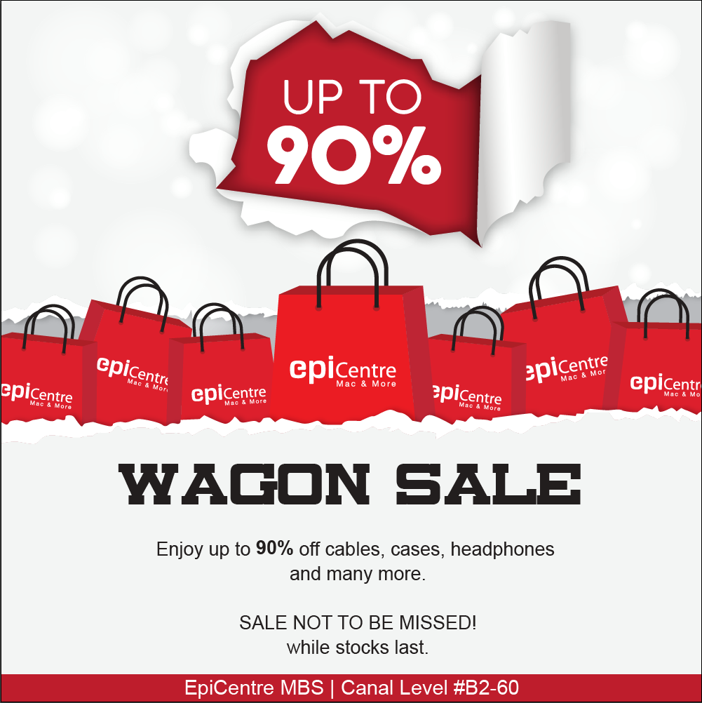 EpiCentre Singapore Wagon Sale Up to 90% Off Promotion While Stocks Last | Why Not Deals & Promotions