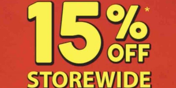 Popular Singapore 15% Off Storewide NS50 Promotion 1-13 Aug 2017 | Why Not Deals 1 & Promotions