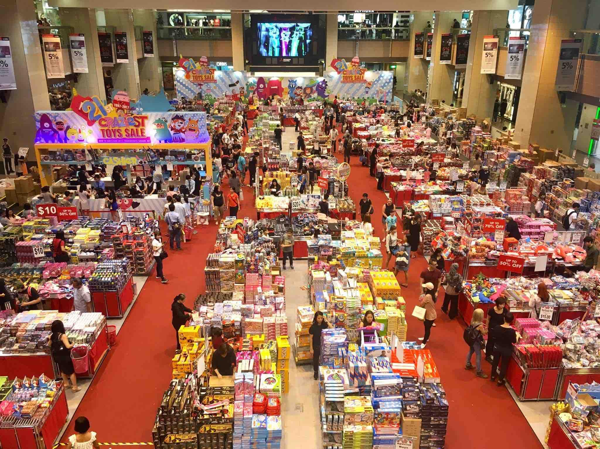 Takashimaya Singapore 21st Craziest Toys Sale Promotion 28 Jul - 6 Aug 2017   Why Not Deals & Promotions