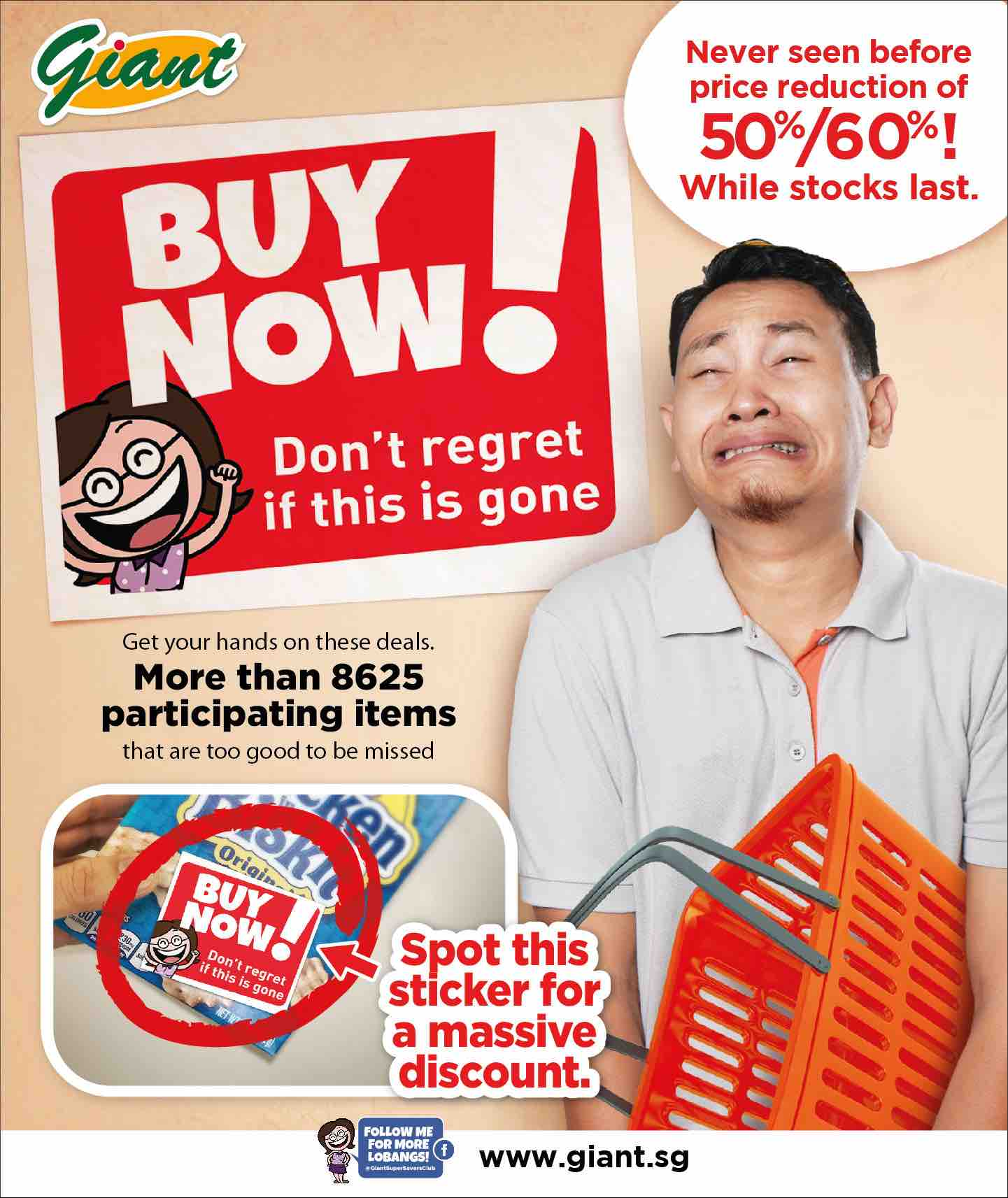 Giant Singapore Black Friday Spot the Sticker & Score 60% Off Promotion While Stocks Last | Why Not Deals 1 & Promotions