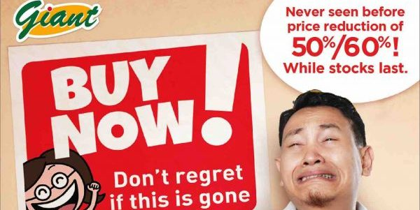 Giant Singapore Black Friday Spot the Sticker & Score 60% Off Promotion While Stocks Last | Why Not Deals 2 & Promotions