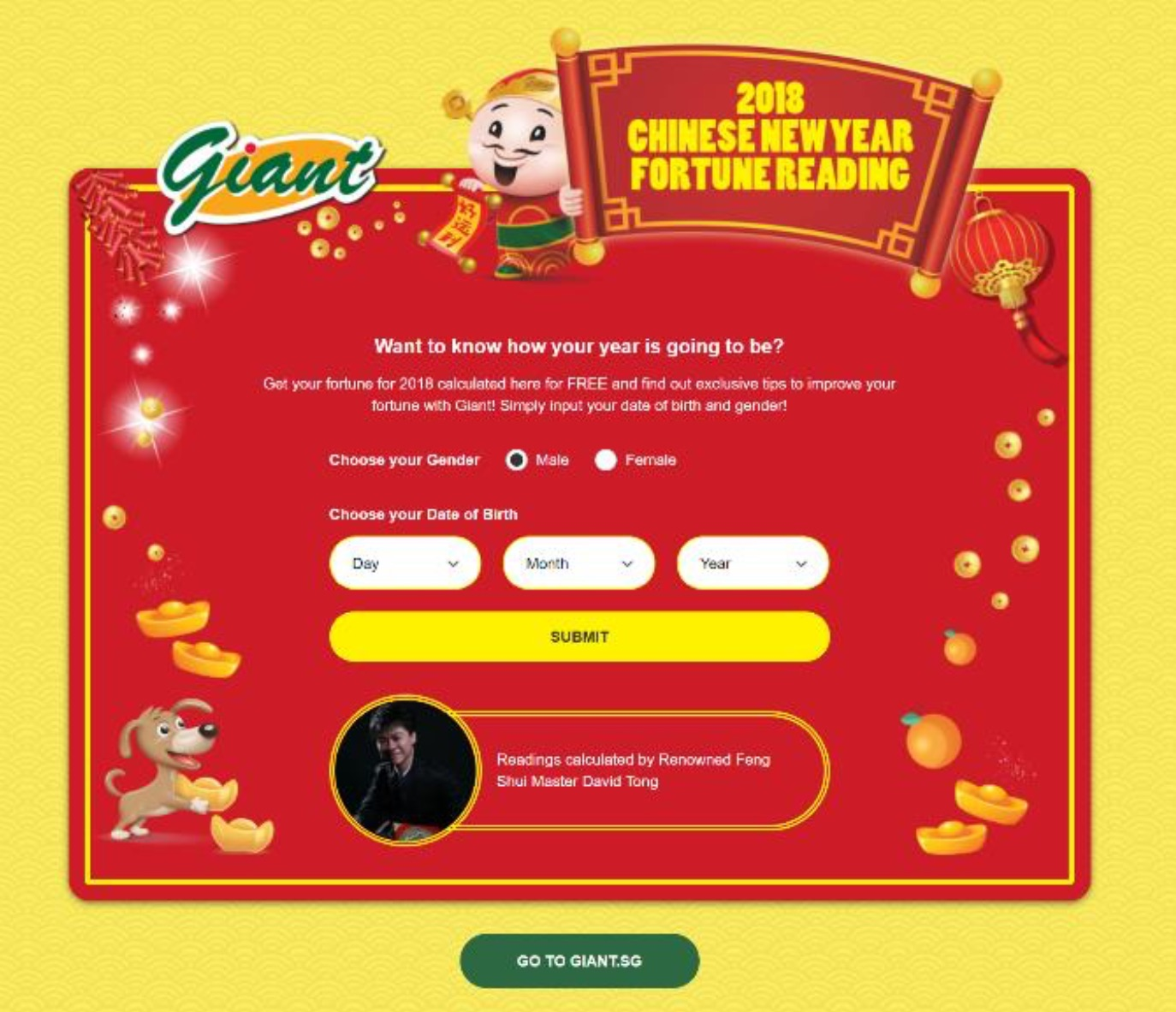 Giant Singapore Events, Promotions & Fengshui Chinese New Year 2018 | Why Not Deals & Promotions