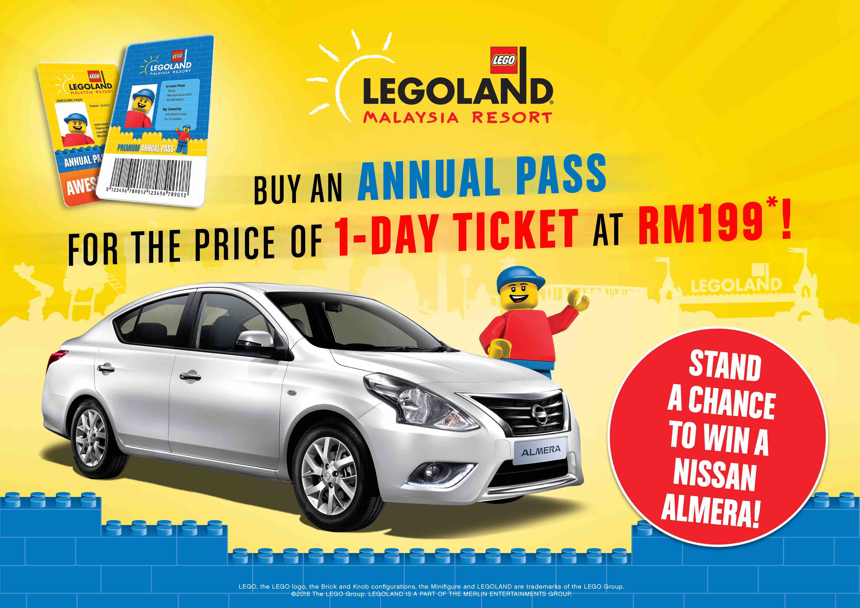 LEGOLAND Malaysia Annual Pass for the price of 1-Day Ticket this School Holiday | Why Not Deals & Promotions