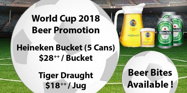 Ocean Spoon Dining Singapore FIFA World Cup 2018 Live Match Screenings with Promotions   Why Not Deals 1 & Promotions