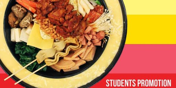 Yoogane Singapore Army Stew Unlimited Toppings $12.90++ Students Promotion is back! | Why Not Deals 1 & Promotions