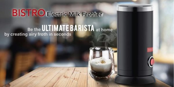 Bodum® BISTRO Electric Milk Frother is now available at Metro Centrepoint, Robinsons, Tangs & Takashimaya for only $119. | Why Not Deals & Promotions