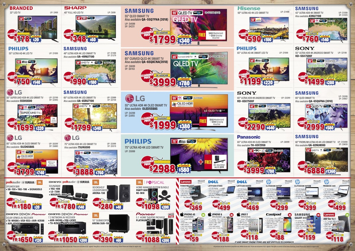 Audio House Singapore Warehouse Sale Up to 90% Off Promotion 11-26 May 2019 | Why Not Deals 3 & Promotions