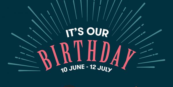 Mr Bean Singapore 24th Anniversary Amazing Deals 10 Jun - 12 Jul 2019   Why Not Deals 5 & Promotions
