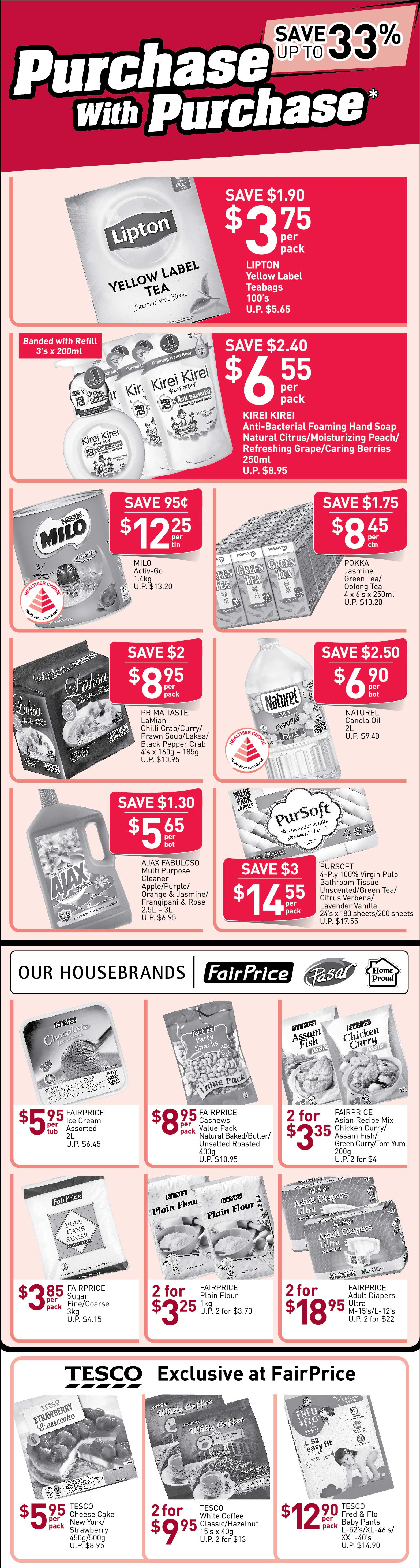 NTUC FairPrice Singapore Your Weekly Saver Promotion 13-19 Jun 2019 | Why Not Deals 1 & Promotions