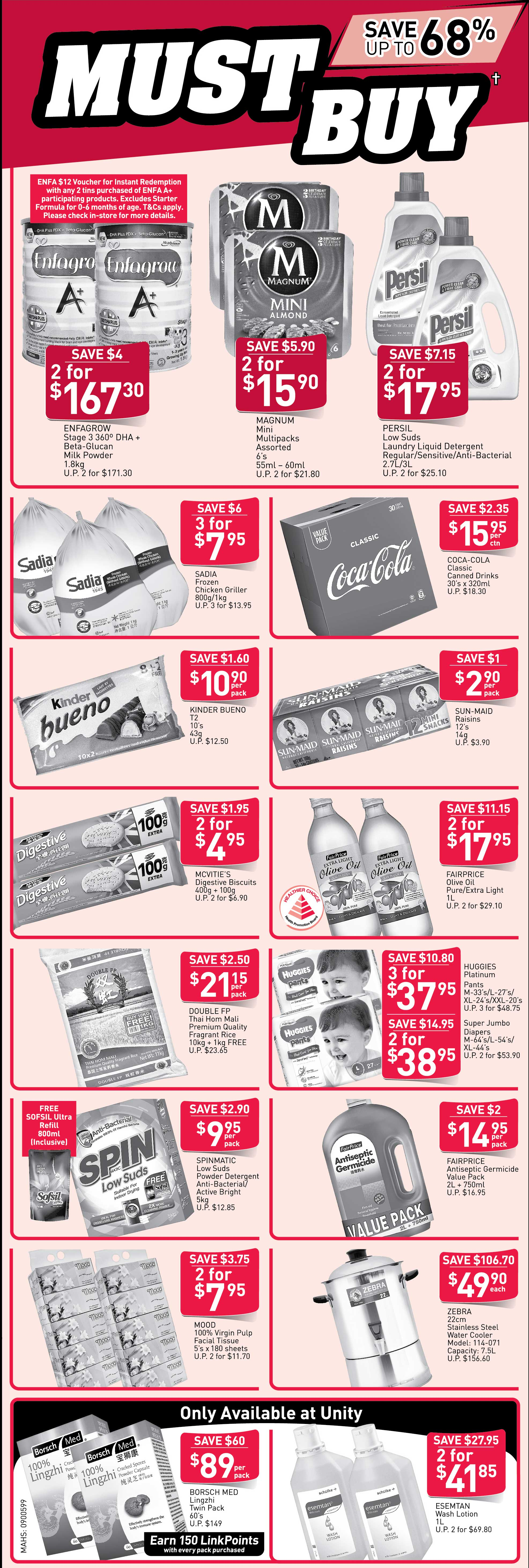 NTUC FairPrice Singapore Your Weekly Saver Promotion 13-19 Jun 2019 | Why Not Deals & Promotions