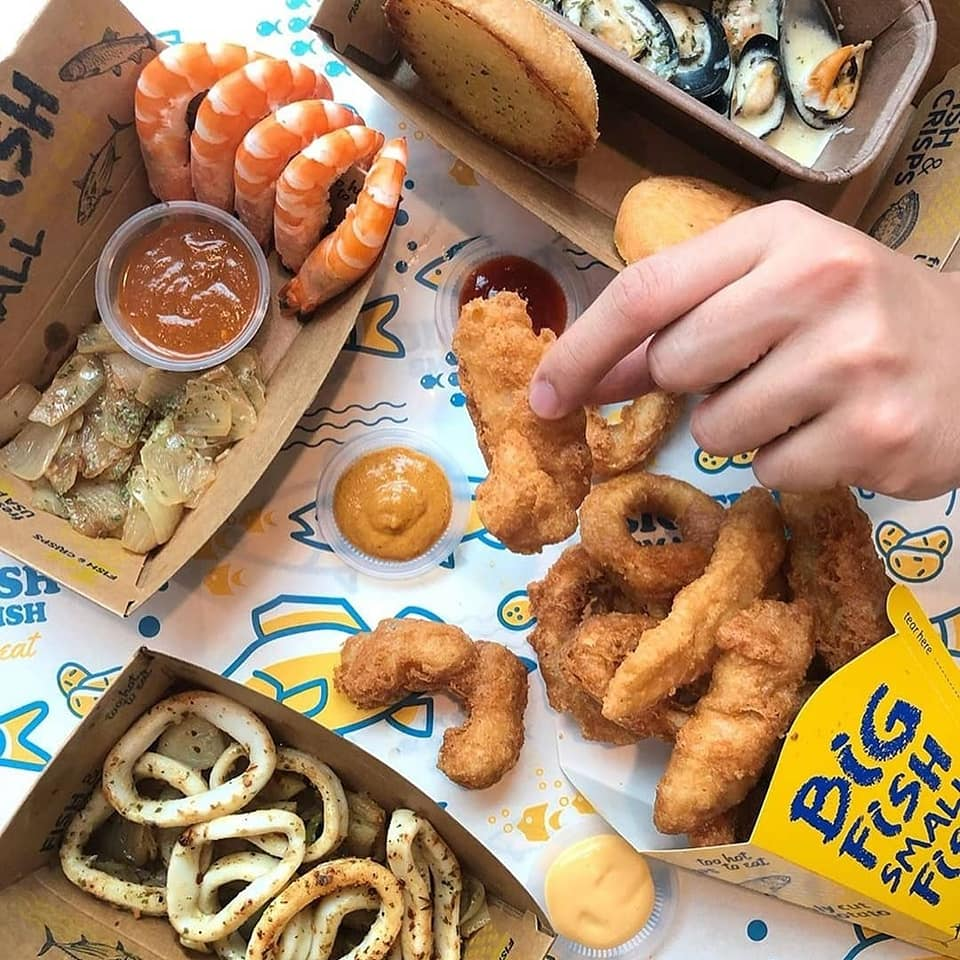 Big Fish Small Fish Singapore 1-for-1 Fish & Crisps Promotion ends 30 Sep 2019 | Why Not Deals 4 & Promotions