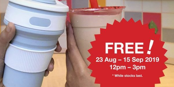 Gong Cha x National Museum of Singapore BYOB & Get FREE Gong Cha Milk Tea Promotion 23 Aug - 15 Sep 2019 | Why Not Deals 1 & Promotions