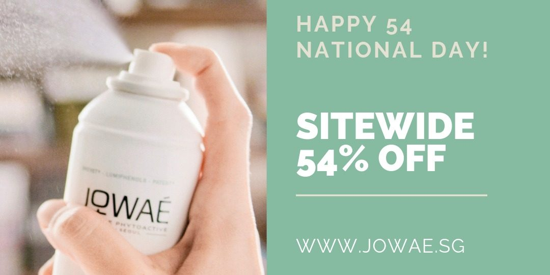 JOWAE Singapore Celebrates National Day with 54% Off Promotion ends 31 Aug 2019   Why Not Deals 1 & Promotions