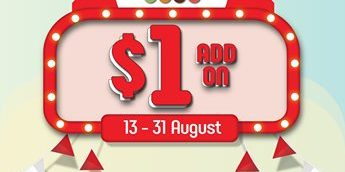 Mr Bean Singapore $1 Deals with Purchase of any SINGAFOUR Combo Set Promotion 13-31 Aug 2019 | Why Not Deals 1 & Promotions