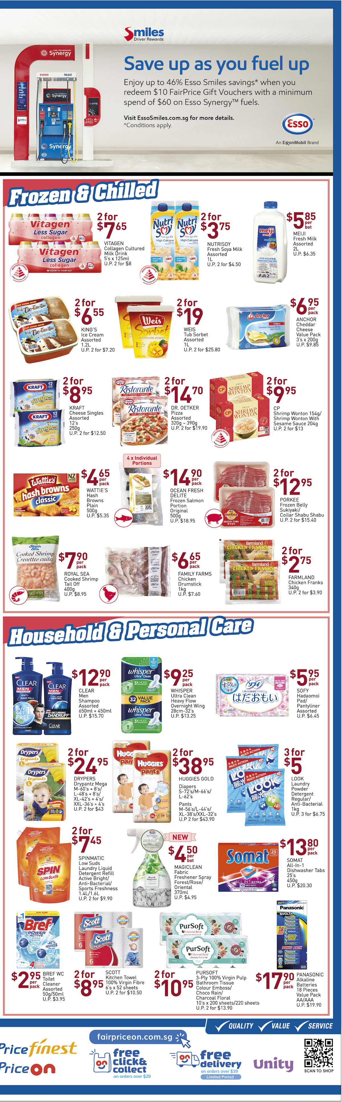 NTUC FairPrice Singapore Your Weekly Saver Promotion 22-28 Aug 2019 | Why Not Deals 5 & Promotions