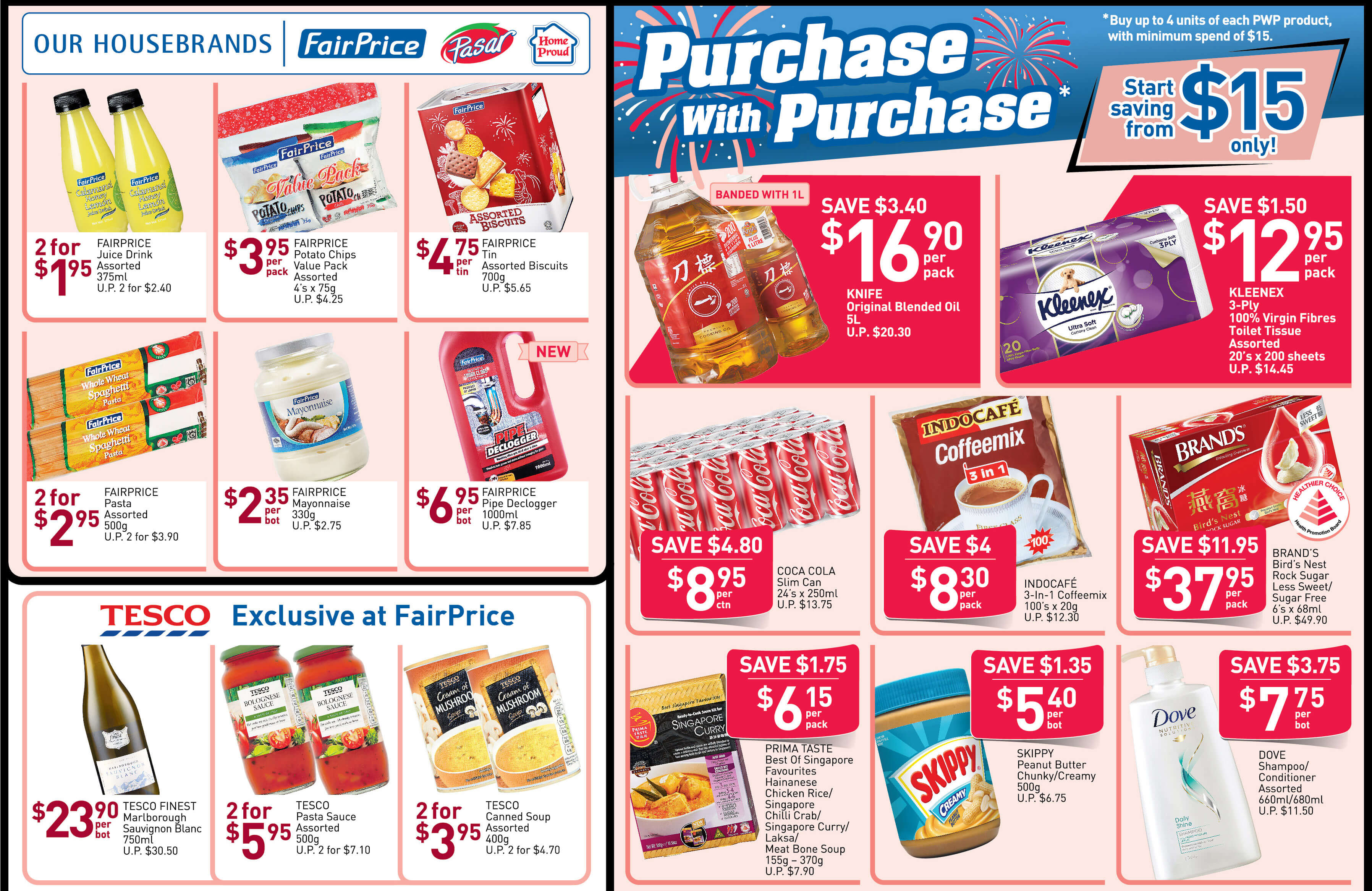NTUC FairPrice Singapore Your Weekly Saver Promotion 8-14 Aug 2019   Why Not Deals 1 & Promotions