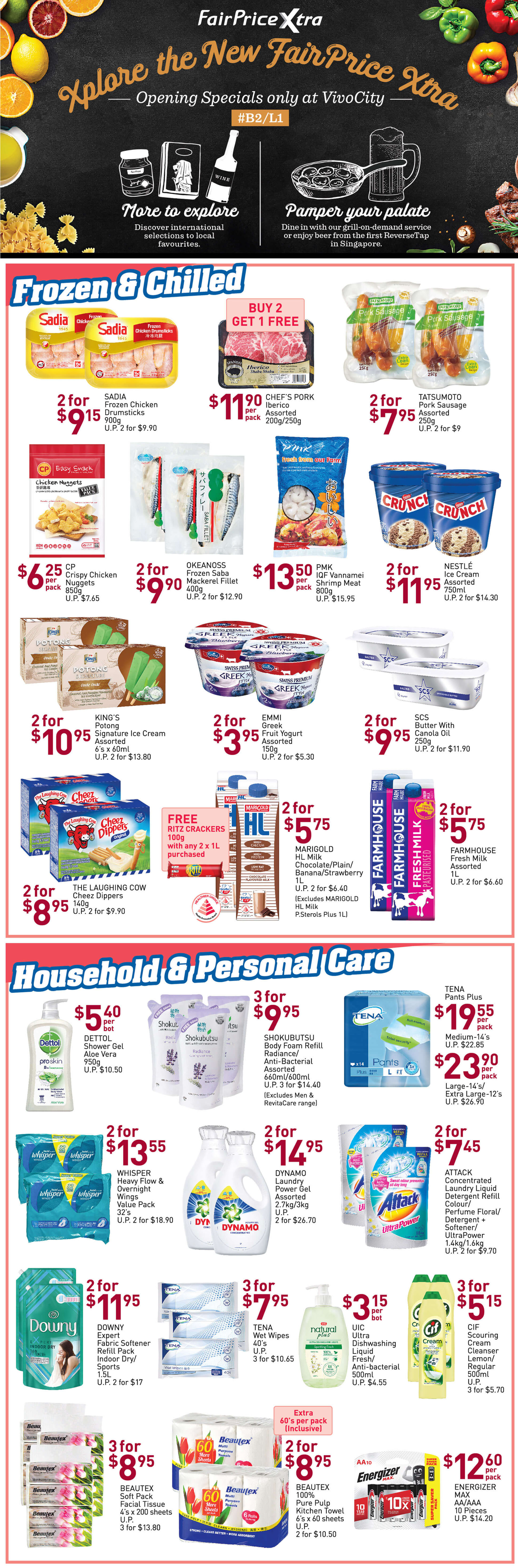 NTUC FairPrice Singapore Your Weekly Saver Promotion 8-14 Aug 2019   Why Not Deals 3 & Promotions