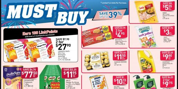 NTUC FairPrice Singapore Your Weekly Saver Promotion 8-14 Aug 2019   Why Not Deals 7 & Promotions