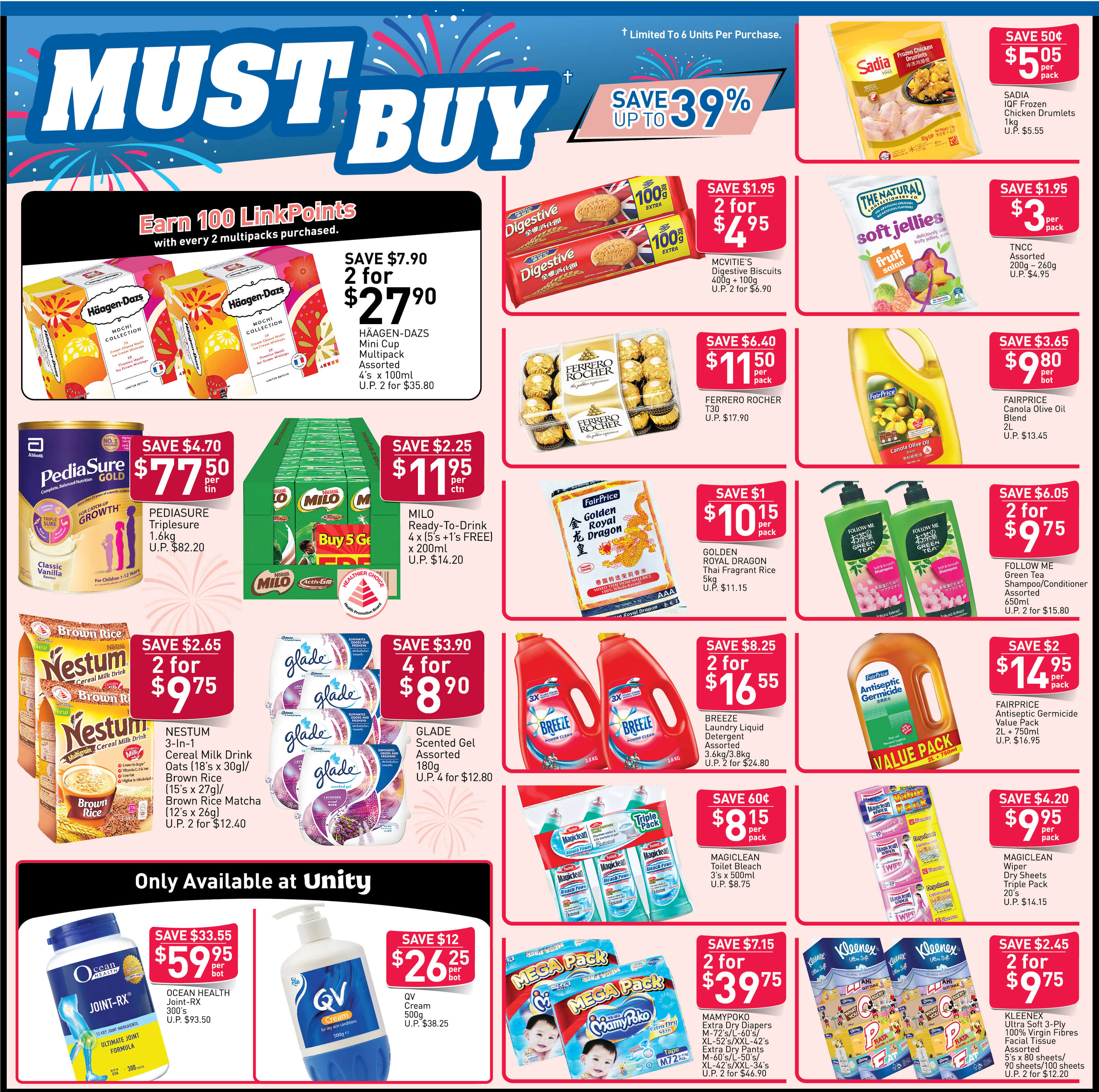 NTUC FairPrice Singapore Your Weekly Saver Promotion 8-14 Aug 2019   Why Not Deals & Promotions
