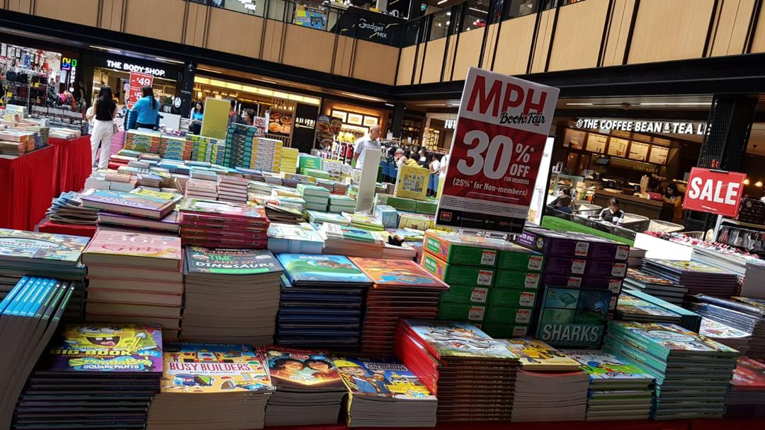 MPH Bookstores Singapore MPH Book Fair at SingPost Centre Up to 30% Off Promotion 9-15 Sep 2019 | Why Not Deals 3 & Promotions