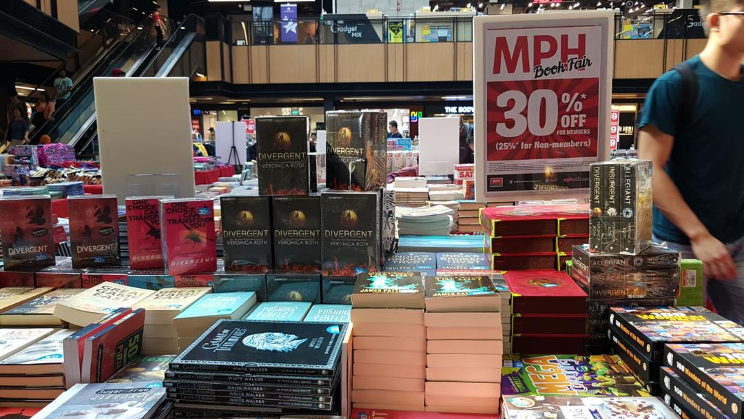 MPH Bookstores Singapore MPH Book Fair at SingPost Centre Up to 30% Off Promotion 9-15 Sep 2019 | Why Not Deals 4 & Promotions