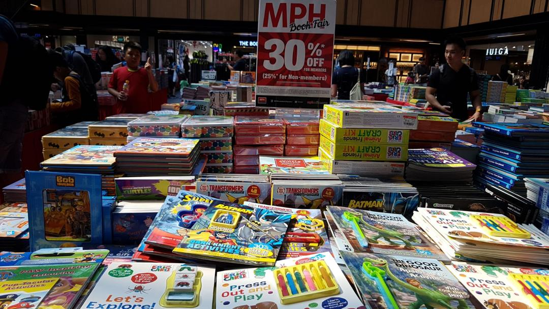 MPH Bookstores Singapore MPH Book Fair at SingPost Centre Up to 30% Off Promotion 9-15 Sep 2019 | Why Not Deals 5 & Promotions