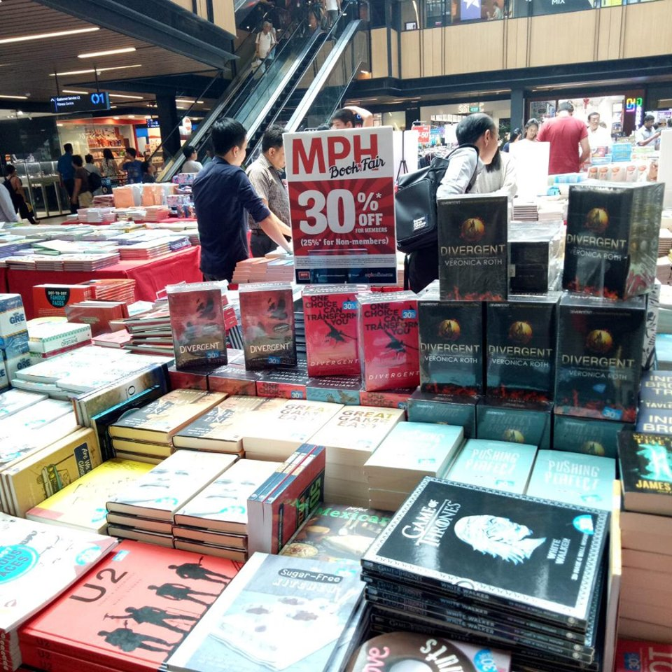 MPH Bookstores Singapore MPH Book Fair at SingPost Centre Up to 30% Off Promotion 9-15 Sep 2019 | Why Not Deals 6 & Promotions
