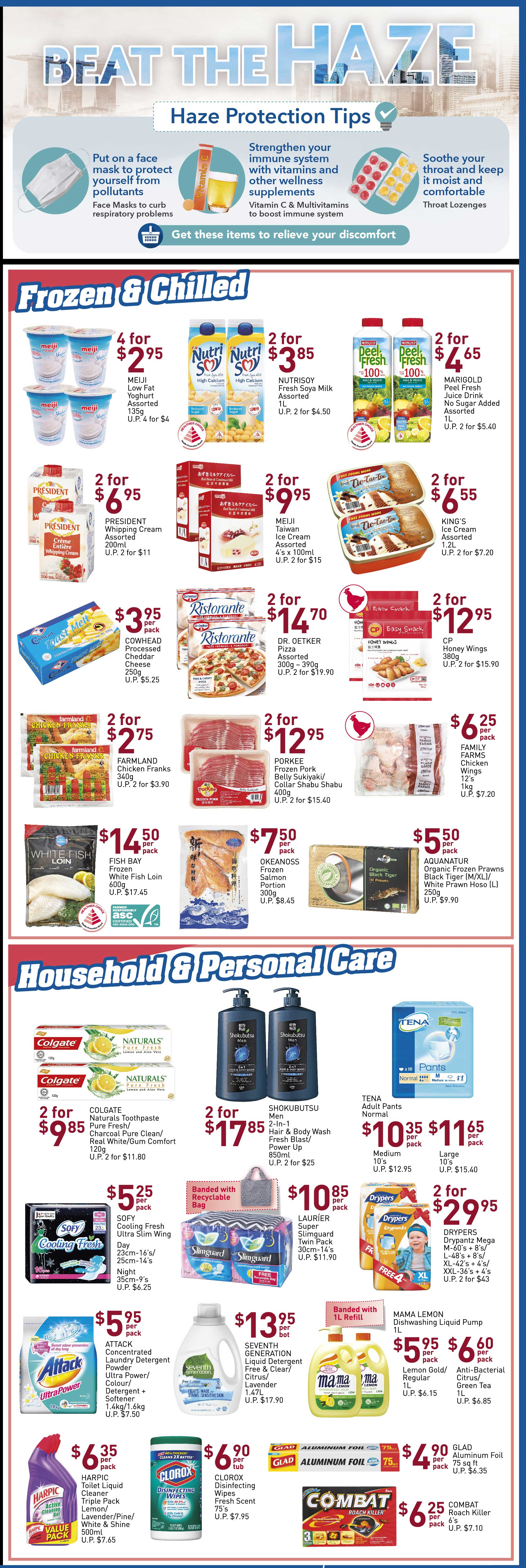 NTUC FairPrice Singapore Your Weekly Saver Promotion 19-25 Sep 2019 | Why Not Deals 2 & Promotions