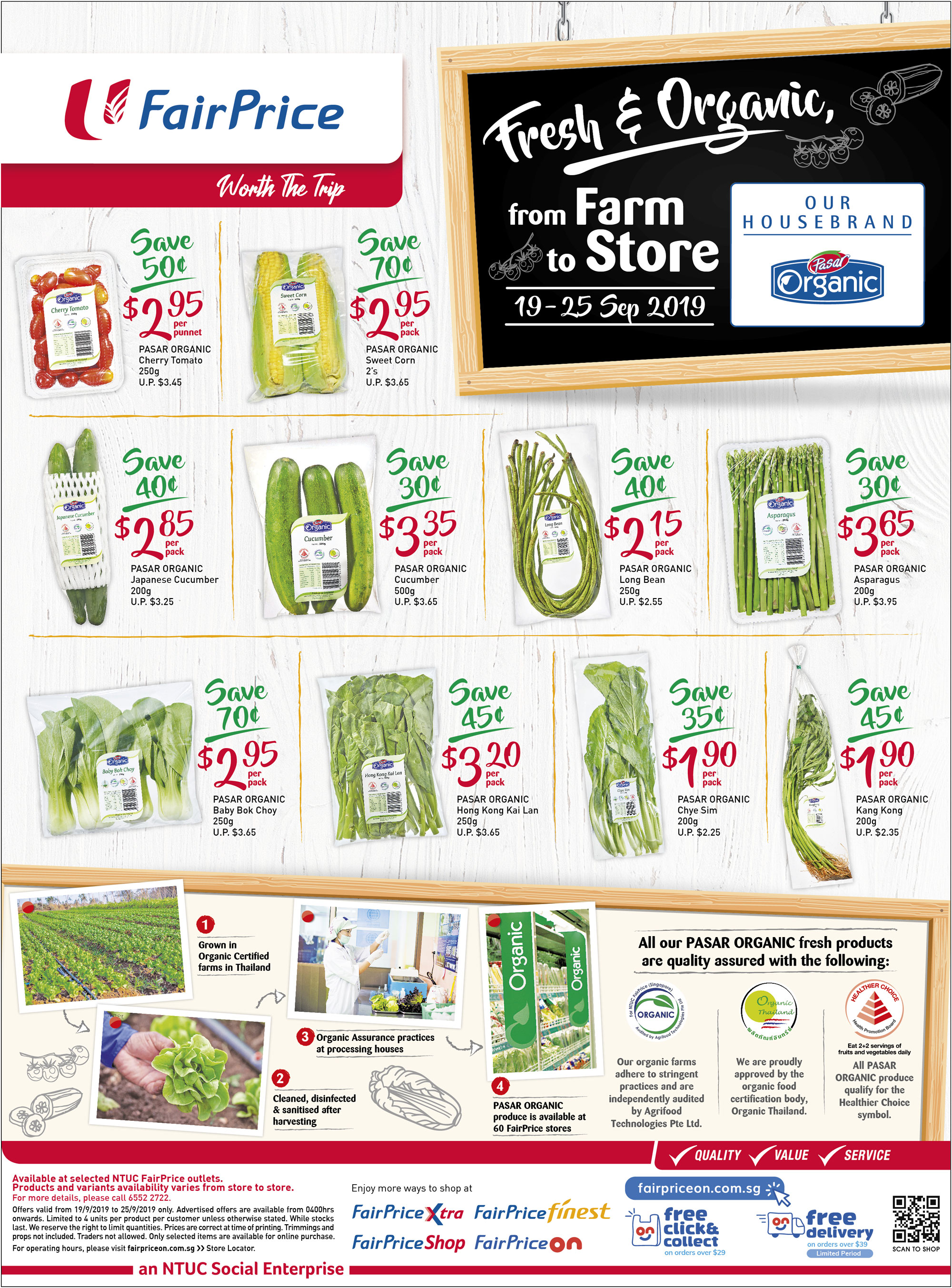 NTUC FairPrice Singapore Your Weekly Saver Promotion 19-25 Sep 2019 | Why Not Deals 5 & Promotions