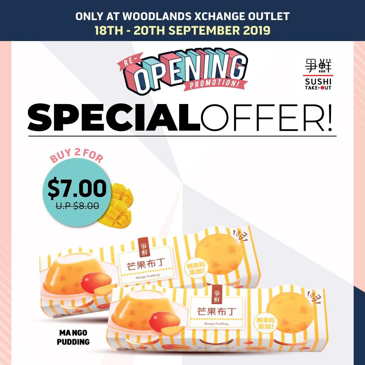 Sushi Express Singapore Purchase Any 2 Bentos & Get 3rd One FREE Promotion 18-20 Sep 2019 | Why Not Deals 2 & Promotions