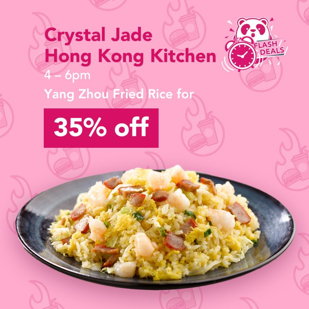foodpanda Singapore Flash Sale Mondays Up to 50% Off Promotion 14 Oct 2019 | Why Not Deals 2