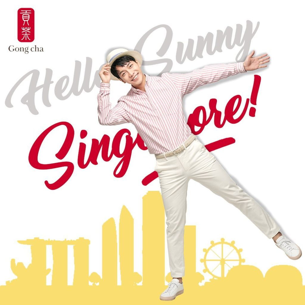 Gong Cha Singapore Spend $10 & Stand to Win Lee Seung Gi's