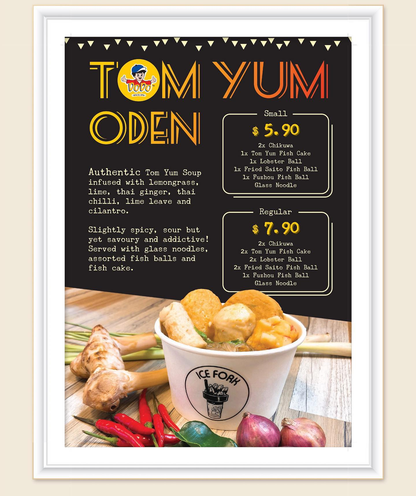 Ice Fork Singapore 20% Off Ice Fork Thai Tom Yum Oden Promotion only on 9 Oct 2019 | Why Not Deals & Promotions