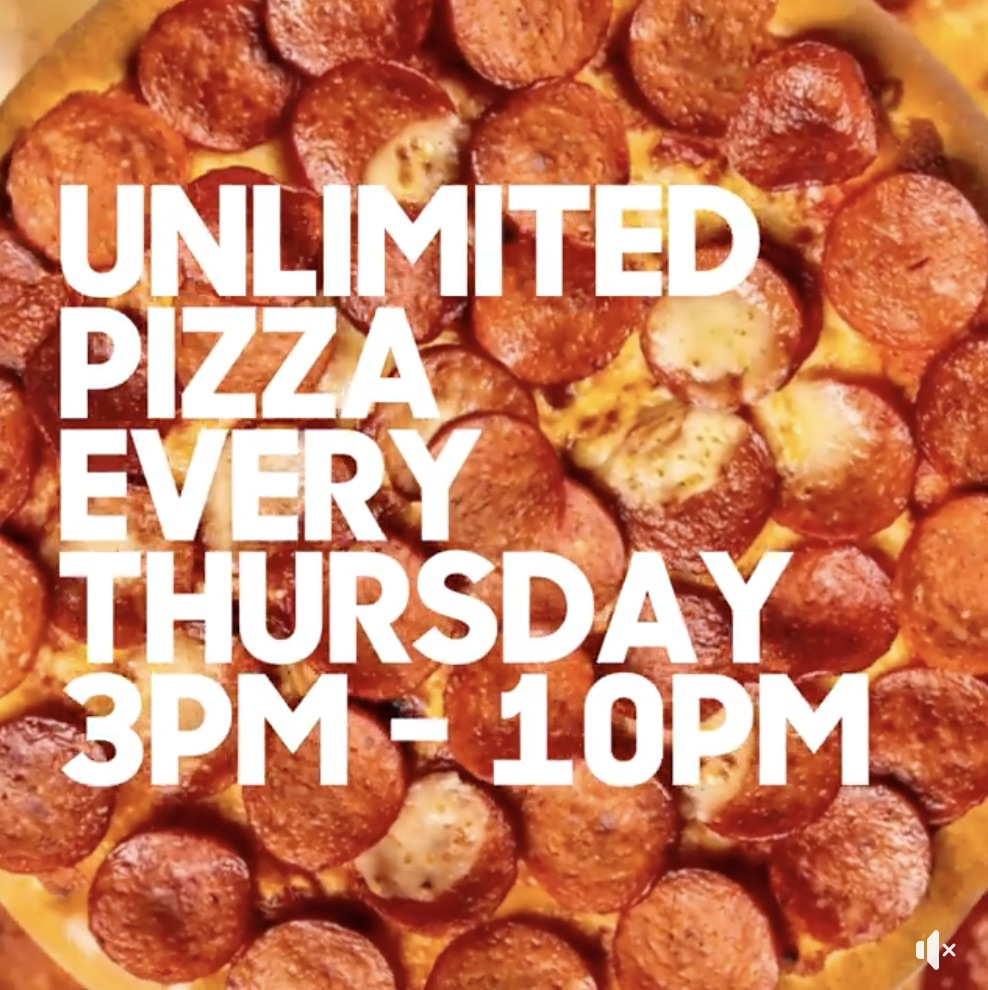 Pizza Hut Singapore Unlimited Pizza Every Thursday 3-10pm Promotion on 10 Oct 2019 | Why Not Deals