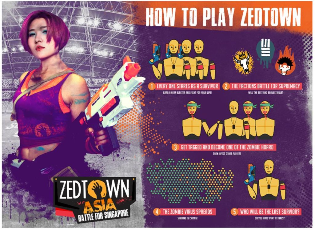 Purchase a ticket to Zedtown Asia: Battle for Singapore & Receive a Complimentary NERF Blaster | Why Not Deals
