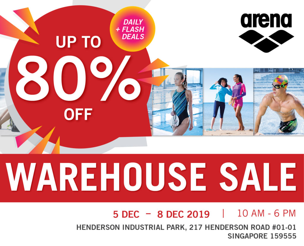 Arena Singapore Final Sale of the Year Up to 80% Off Promotion 5-8 Dec 2019 | Why Not Deals