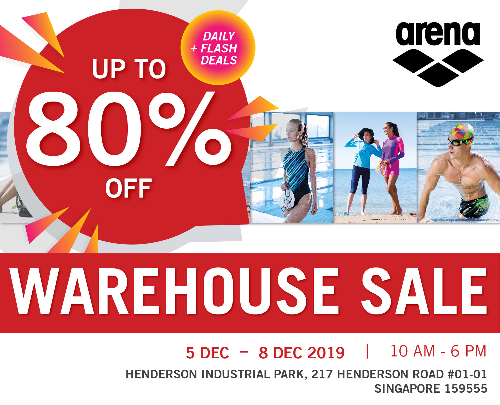 Arena Singapore Final Sale of the Year Up to 80% Off Promotion 5-8 Dec 2019 | Why Not Deals & Promotions