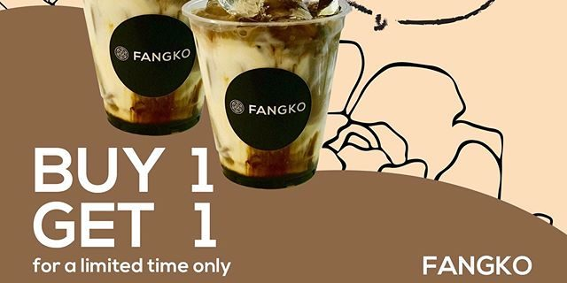 FANGKO COFFEE Singapore Buy 1 Get 1 FREE Opening Promotion Limited Time Only | Why Not Deals 1 & Promotions